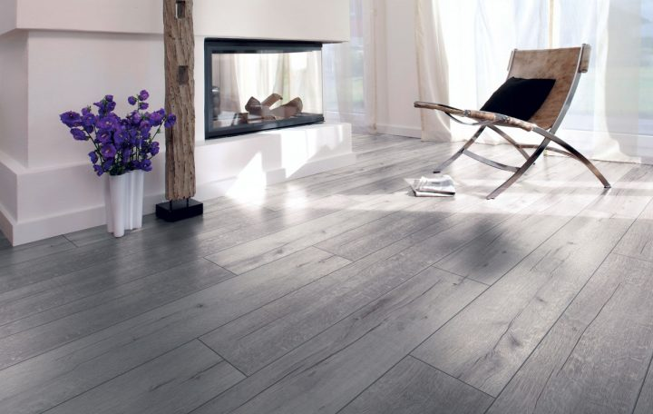 laminate oak rustic grey