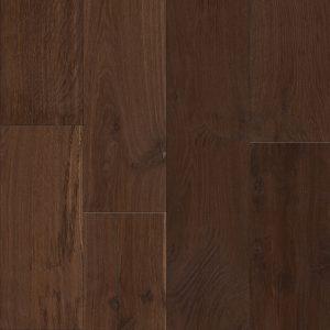 Oak parquet engineered flooring