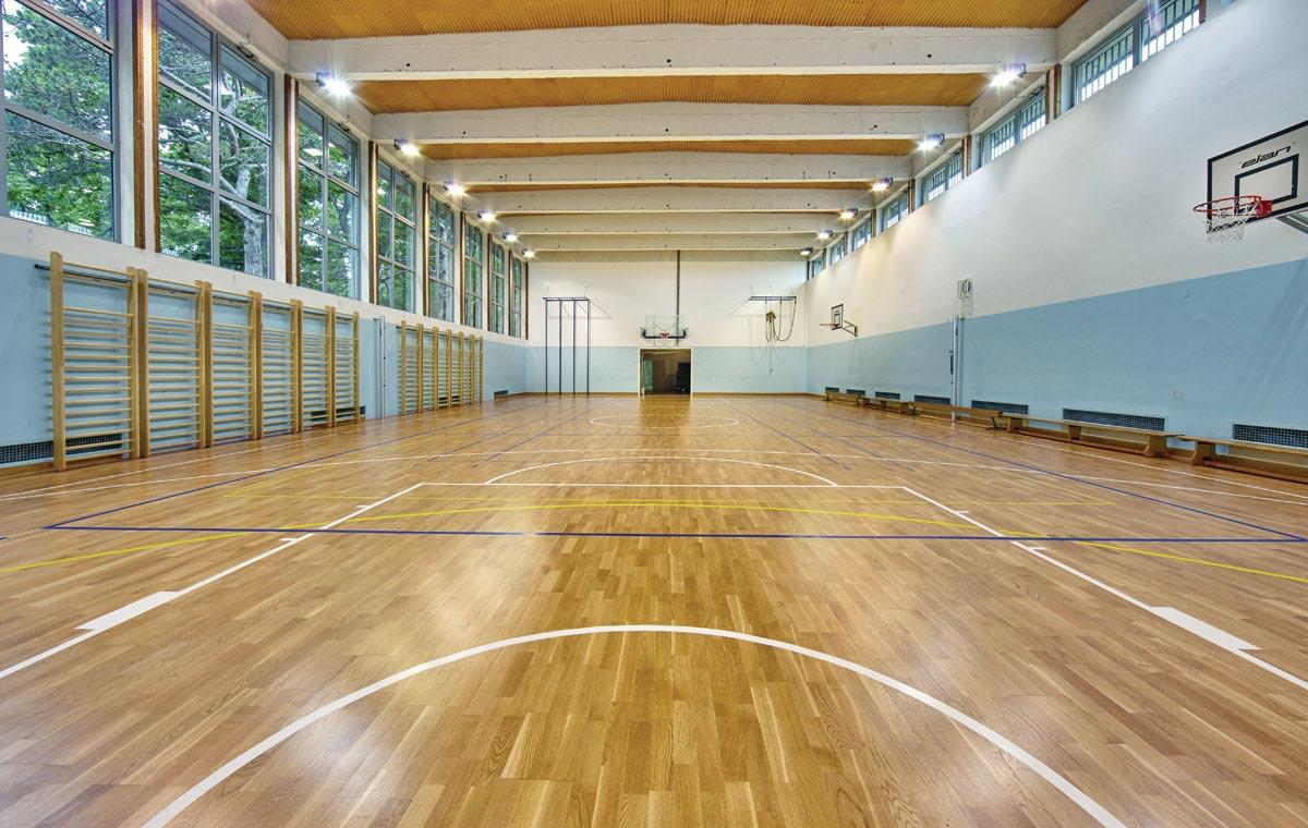 Sports Hall Parquet Sport Oak Flooring