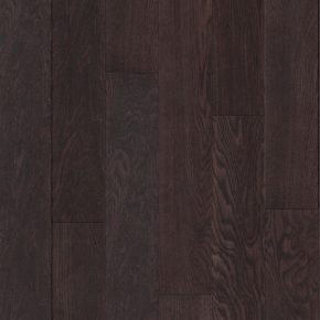 Dark brown laminate flooring