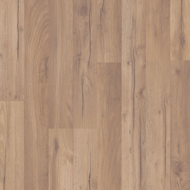Installing laminate flooring on concrete or wood with click system |