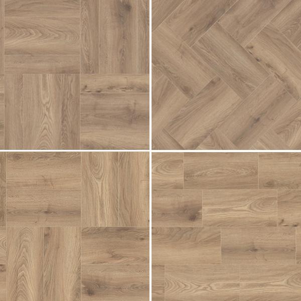 Laminate flooring K285 OAK HAYBRIDGE KROTET-K285A0