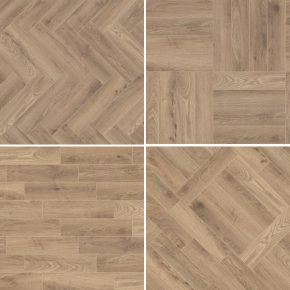 Laminate KROTET-K285A0 K285 OAK HAYBRIDGE Krono Original Tetris