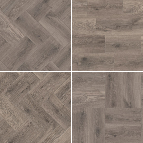 Laminate flooring K287 OAK STEELWORKS KROTET-K287A0