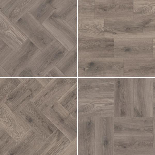Laminate flooring K287 OAK STEELWORKS KROTET-K287A0