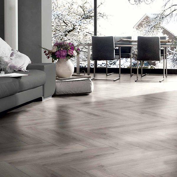 Laminate flooring OAK HARMONY GREY VABHER-0807A0