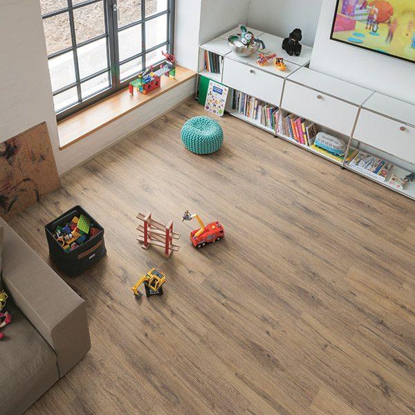 Laminate flooring OAK PARQUET DARK EGPLAM-L019/0
