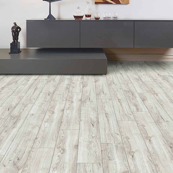 Laminate flooring OAK WHITE VABCOU-1207/0