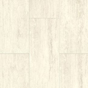 Laminate AQUCLA-TRW/01 TRAVERTIN WHITE Aquastep Stone
