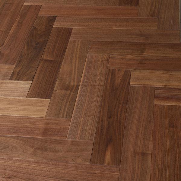 Parquet flooring WALNUT AMERICAN COURCHEVEL HERALP-COU010