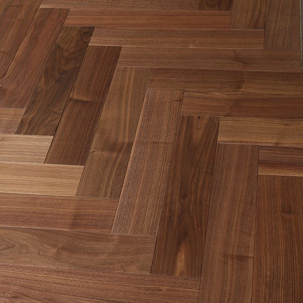 Parquet flooring WALNUT AMERICAN COURCHEVEL HERALP-COU010