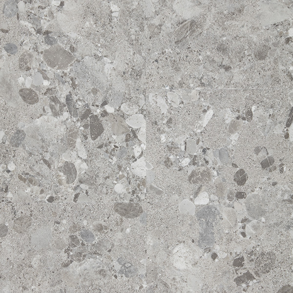Vinyl flooring BERPC5-TER040 TERAZZO GREY LIGHT Pure Click 55
