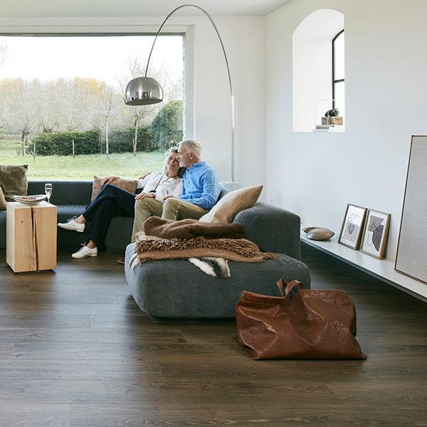 Vinyl flooring AUTHENTIC BROWN BERPC5-AUT090